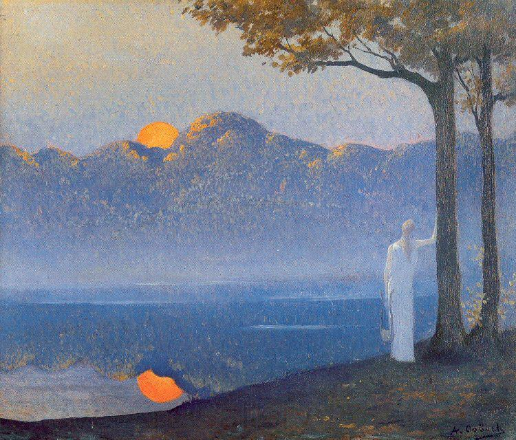 Osbert, Alphonse The Muse at Sunrise